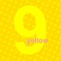 Divine Yellow Number Nine by Maciej Mackiewicz