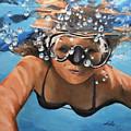 Diving by Alan Lakin