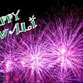 Diwali Greetings Card by Jijo George