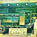 Dixie Bee Garage 1920 by David King