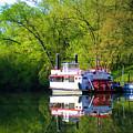 Dixie Belle River Boat by Sam Davis Johnson