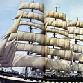 dk tall ships kruzenshtern barque lyr 1926 full D K Spinaker by Eloisa Mannion
