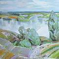 Dnepro River by Sergey Ignatenko