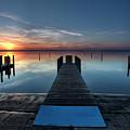 Dnr West Boat Launch Sunrise by Ron Wiltse