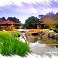Do-00007 Japanese Gardens by Digital Oil