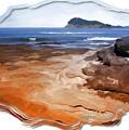 Do-00016 Pearl Beach by Digital Oil