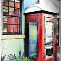 Do-00091 Telephone Booth In Morpeth by Digital Oil