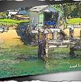 Do-00128 Boatshed At Brisbane Water by Digital Oil
