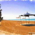 Do-00155 Beach At Royal Mirage Hotel by Digital Oil
