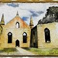 Do-00247 Church At Port Arthur by Digital Oil