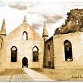 Do-00248 Church At Port Arthur by Digital Oil