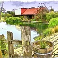Do-00251 A Farm In Hunter Valley by Digital Oil