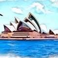 Do-00293 Sydney Opera House by Digital Oil