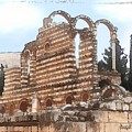 Do-00302 Ruins In Anjar by Digital Oil