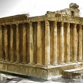 Do-00311 The Temple Of Bacchus Baalbeck by Digital Oil
