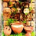 Do-00348 Jars In Byblos by Digital Oil