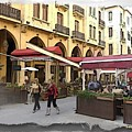 Do-00352 Downtown Coffee Shops by Digital Oil
