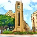 Do-00358 The Clock Tower by Digital Oil