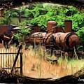 Do-00411 Old Train In Ryak by Digital Oil