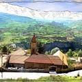 Do-00434 Church In North Lebanon by Digital Oil