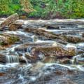 Dochart Falls by Chris Thaxter
