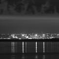 Dock Lights Dublin by Robert Phelan