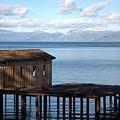Dock Of Dreams South Lake Tahoe Ca by Brad Scott