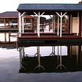 Dock Reflections by Catie Canetti