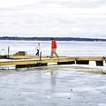 Dock Walking  by Joseph F Safin