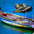 Docked Boat by Danielle Stephenson