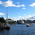 Docked In The Harbor by Donna Cavanaugh