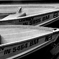 Docked Rowboats by Michael L Kimble
