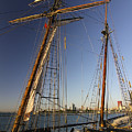 Docked Tall Ship by Sven Brogren