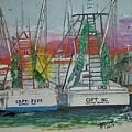 Docking Buddies by Bill Gray