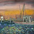 Dockside by Charles Vaughn