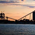Dockside Sunset by Adam Pfeiffer