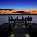 Dockside Sunset by Bill Dodsworth