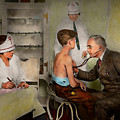 Doctor - At The Pediatricians Office 1925 by Mike Savad