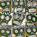 Dod Art 1239 by Sandra Silberzweig