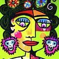 Dod Art 123hh by Sandra Silberzweig