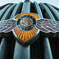 Dodge Brothers Emblem Jerome Az by Toby McGuire