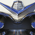 Dodge Custom Royal V8 Hood Ornament by Jill Reger
