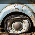 Dodge Pickup - Flat Tire by John MacLean
