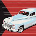 Dodge Showroom Poster by Mark Rogan