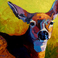 Doe Portrait V by Marion Rose