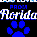 Dog Lover From Florida by Kaylin Watchorn