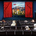 Doggie Cinema by Diana Haronis