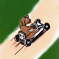 Dogs Don't Ride Go Carts by Rob Keay