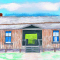 Dogtrot Cracker Home Drawing by D Hackett