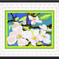 Dogwood In Bloom by Shirley Moravec